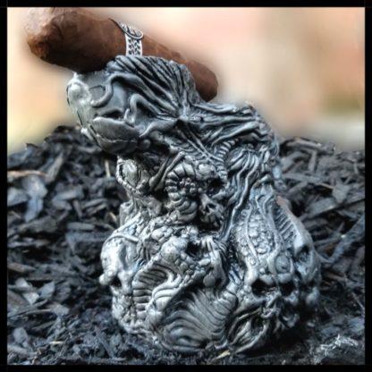 inferno cigar ashtray back view