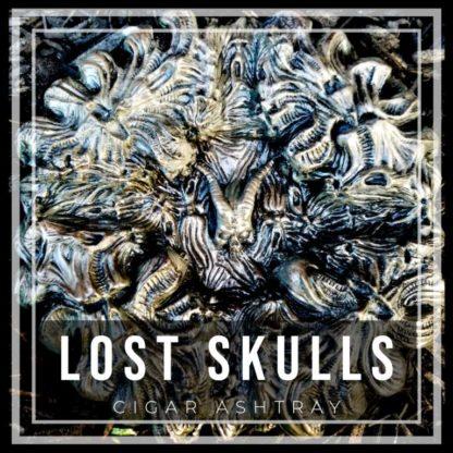 lost skulls cigar ashtray